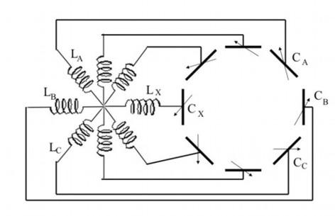 Рис.5 Схема колебательного
